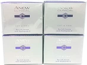 4 x AVON Anew Clinical Lift & Firm Eye Lift System 20ml - 0.68oz SET !
