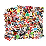 Cool Random Stickers Variety 55-700pcs FNGEEN Laptop Stickers Bomb Waterproof Vinyl Sticker Luggage