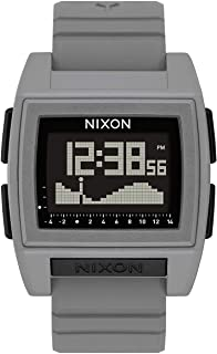 NIXON Base Tide Pro A1212-100m Water Resistant Men's Digital Surf Watch (42mm Watch Face 24mm Pu/Rubber/Silicone Band)