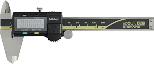 Mitutoyo 500-195-30 Advanced Onsite Sensor Absolute Scale Digital Caliper, 0-4