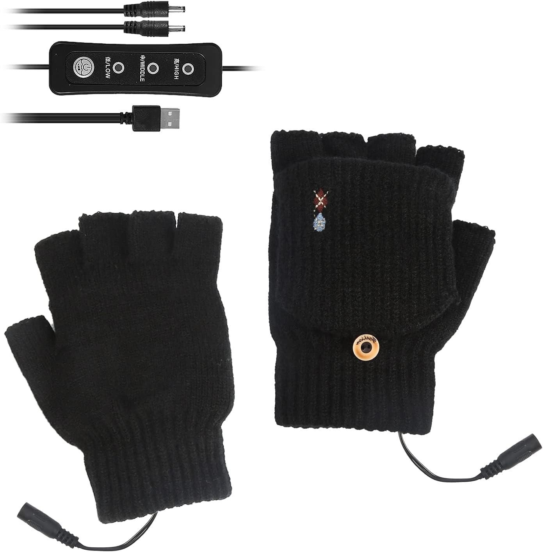 Rehomy USB Heated Gloves Mitten shipfree for Women K Men 2021 Winter and Warm