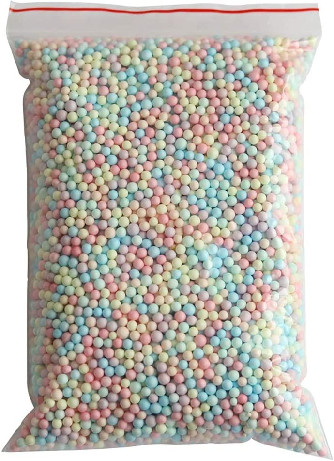 shangdi Super special price Rainbow Omaha Mall Foam Balls Beads Decorative Styrofoam Gift