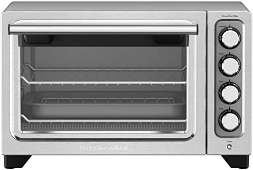 KitchenAid 12-Inch Compact Convection Countertop Oven - Stainless Steel KCO253Q2SS