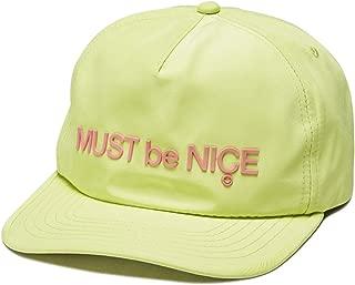 RIPNDIP Blur Nylon 5 Panel Snapback Hat - Yellow