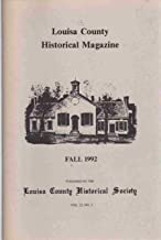 LOUISA COUNTY HISTORICAL MAGAZINE FALL 1992 VOLUME 23 NO. 2