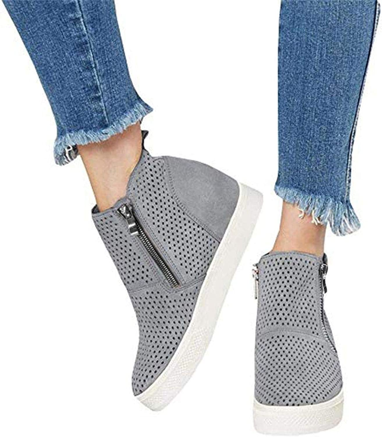 Paris Hill Women's Platform Heeled Bootie shoes Shape Ups Walking Wedges Sandals
