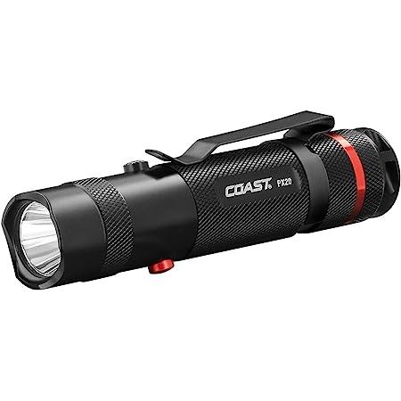 Coast - 19271 COAST PX20 Dual Color 315 Lumen LED Flashlight Black