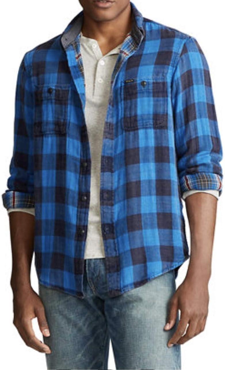Polo Ralph Lauren Country Sportsman Double-Faced Shirt, 2LT Blue
