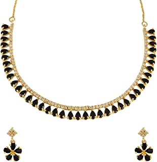 MUCH-MORE Indian Bollywood Zircon & Crystal Stone Fashion...