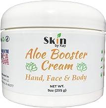 Aloe Vera Cream Face Moisturizer - Organic Shea Butter, Jojoba Oil-Rosacea, Psoriasis Lotion - Eczema Cream (9 oz)
