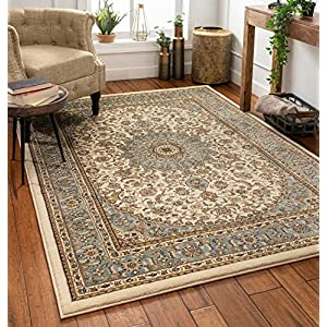 Well Woven Timeless Aviva Traditional Ivory 9'3″ x 12'6″ Area Rug
