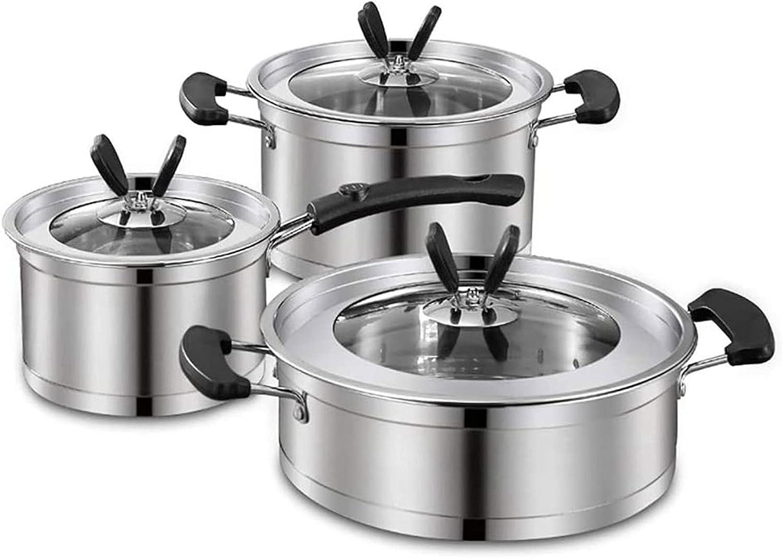 LJJSMG Tulsa Clearance SALE! Limited time! Mall Cookware Sets Kitchen Woks Pans Stir-Fry
