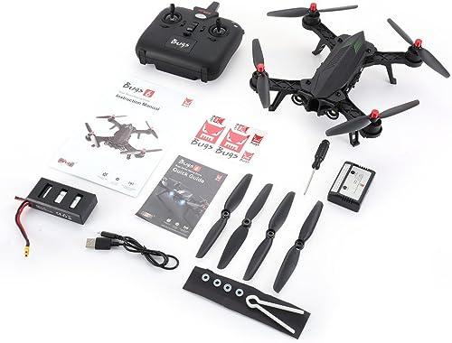 CHOULI MJX Bugs 6 B6 2.4GHz RTF Drone High Speed 1806 Motor Brushless RC Quadcopter schwarz