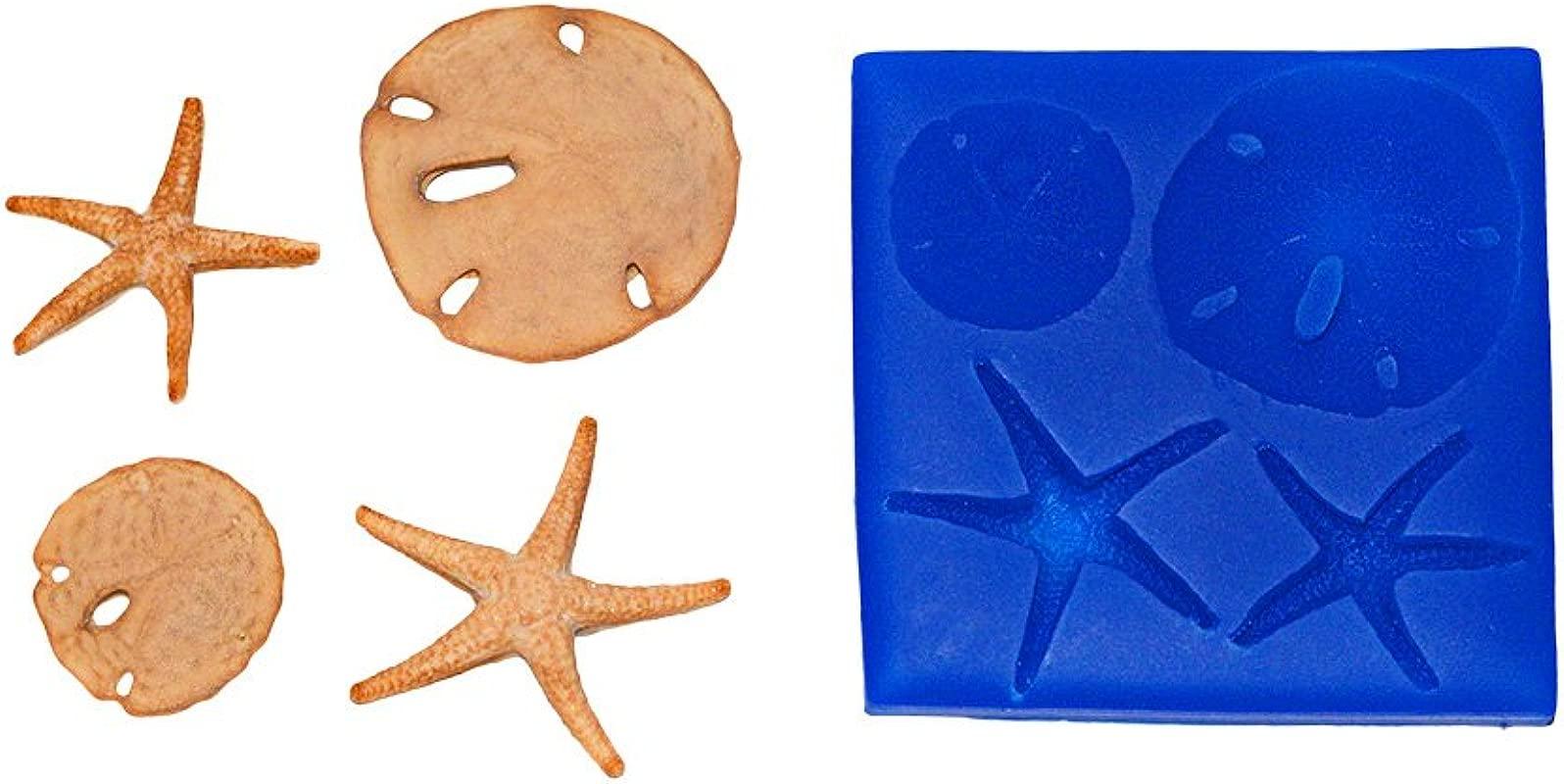 First Impressions Molds SC146 Sand Dollar Starfish Set Mold