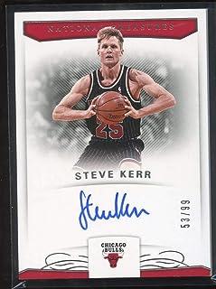 73a438252 Steve Kerr 2017-18 Panini National Treasures Signatures  65 Mint Auto  99  Basketball