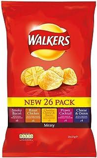 Walkers Crisps - Meaty Variety (14x25g)