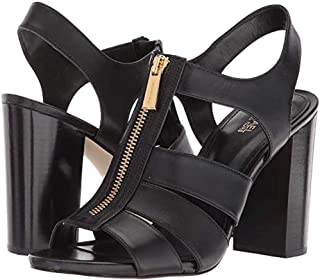 4a9bba6a7 Michael Michael Kors Womens Damita Sandal Leather Open Toe Casual Ankle  Strap.