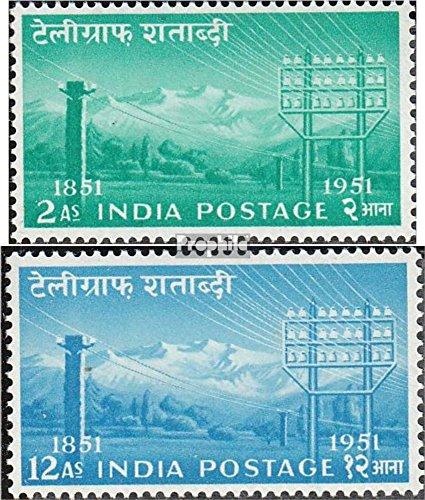 Prophila Collection Indien 230-231 (kompl.Ausg.) 1953 Telegraphie (Briefmarken für Sammler)