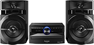 Panasonic SC-UX100E-K Black 300W Mini Hi-Fi System with Bluetooth, USB, CD Player, FM Radio, Manual EQ