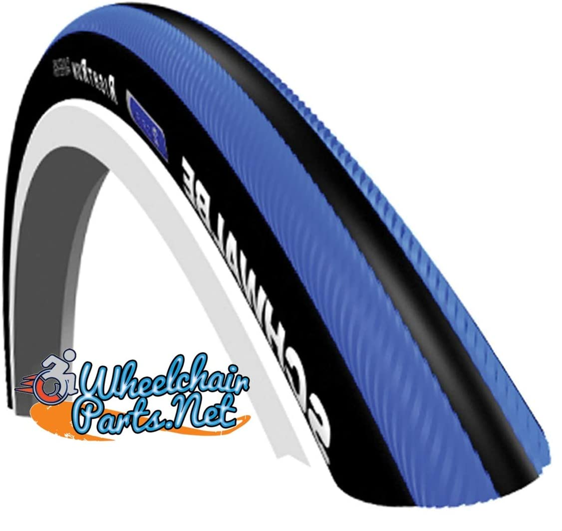 Schwalbe Right Run Limited time trial price Plus Wheelchair Black Blue and Max 41% OFF Tires
