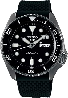 Seiko 5 FACELIFT, 10 Bar water resistant, Calendar, Black Men's watch SRPD65K2