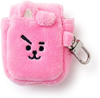 BT21 Official Merchandise by Line Friends - Cooky Character Air Pod Case Cover, Pink