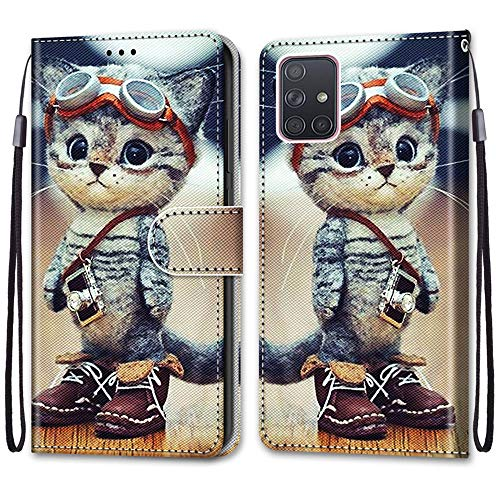 Yoedge Handyhülle für Samsung Galaxy A71(4G) 6.7