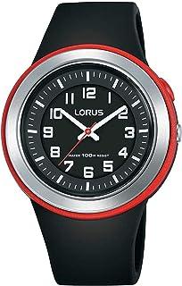 Lorus sport Womens Analog Quartz Watch with Silicone bracelet R2303MX9