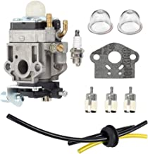 Hilom Carburetor with Fuel Tune-Up Kit for WYJ-138 WYK-186 Echo SHC-260 SHC-261 PB-260L Shindaiwa T242X T242 Trimmer