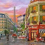 Rue Paris 2000 Piece Puzzle by ChamberArt