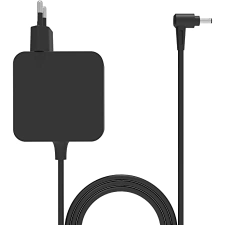 45W Alimentatore AC Adapter Caricatore portatile per Asus UX461U UX461 UX301 UX303 UX305 UX310U UX330 UX331 UX360 UX410 UX430 UX433FA X541N X556 X510 X540S X553 UX21A UX31A UX32A,Alimentatore ASUS