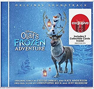 Olaf's Frozen Adventure: Original Soundtrack (includes 2 collectable coloring cards)