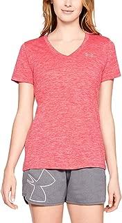 Women's Tech V-Neck Twist Short Sleeve T-Shirt
