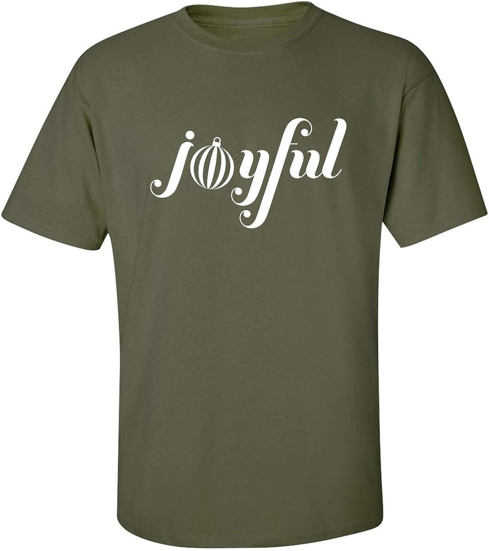 Joyful Adult T-Shirt in Military Green - XXXXX-Large