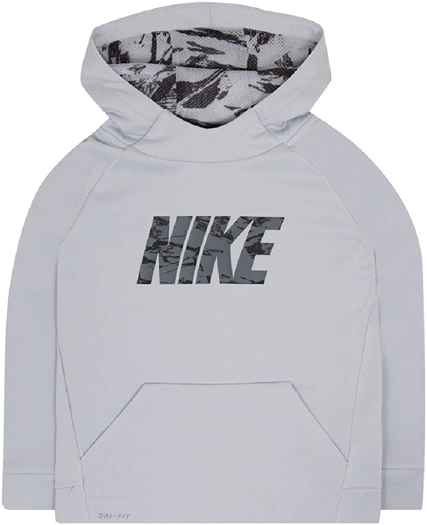 Nike Boys 4-7 Therma Abstract Logo Pullover Hoodie