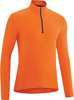 Gonso Christian Langarm Trikot Herren red orange 2020 Radtrikot langärmlig