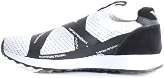 986d9881 Amazon.co.uk: Emporio Armani - Trainers / Men's Shoes: Shoes & Bags