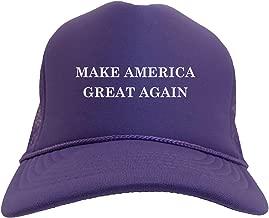 purple maga hat