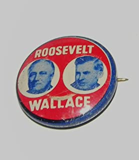 CAMPAIGN PINBACKS PINS BUTTONS FDR FRANKLIN D ROOSEVELT