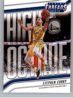 2018-19 Panini Threads High Octane Basketball #6 Stephen Curry Golden State Warriors Official NBA Trading Card From Panini