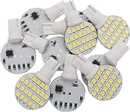 GRV T10 921 194 24-2835 SMD LED Bulb lamp Super Bright DC 12V Cool White Pack of 10