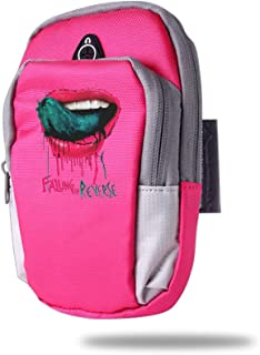 LQLCF Falling in Reverse Personality Arm Bag for Outdoor Sports