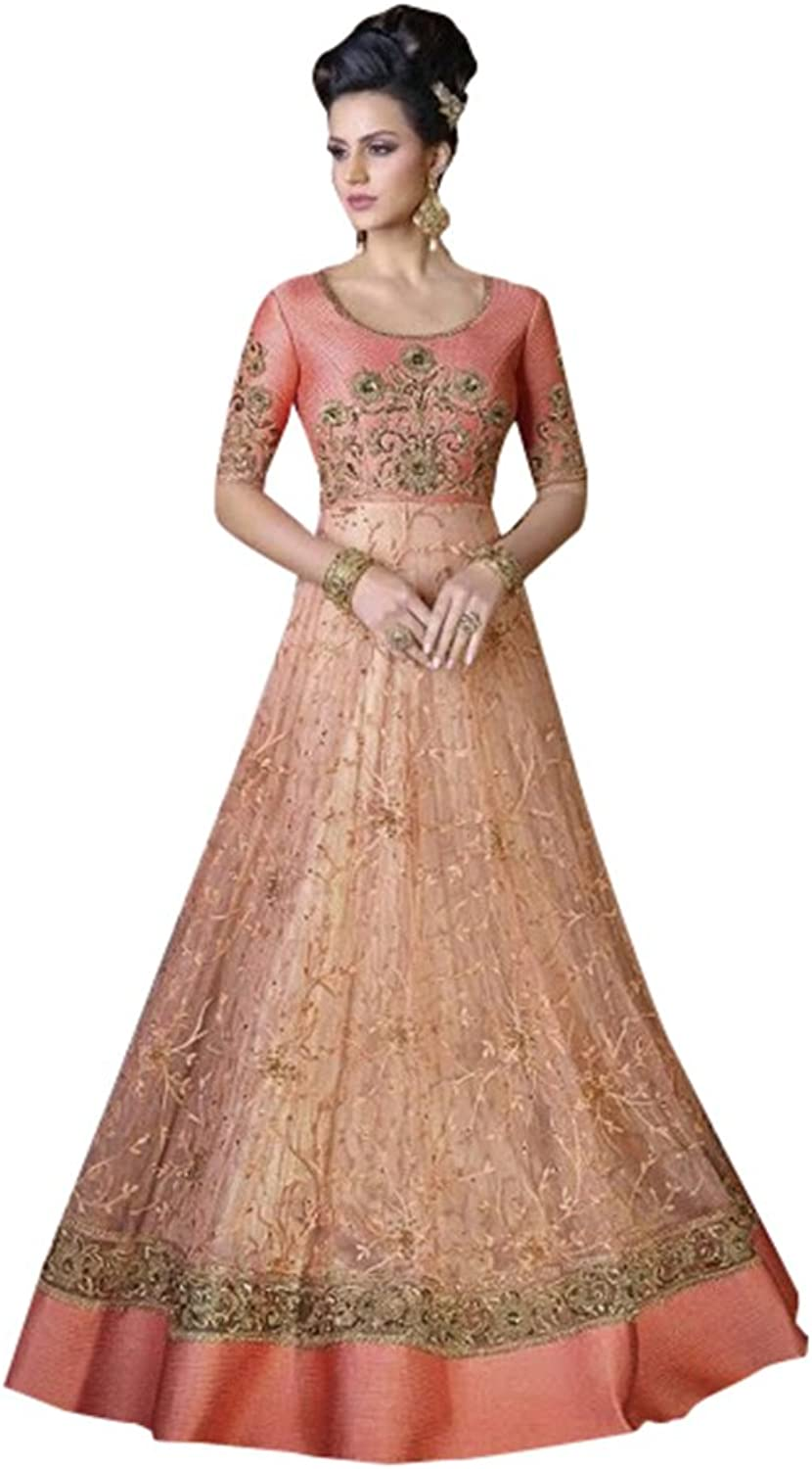 Bollywood Collection Anarkali Salwar Kameez Suit Ceremony Punjabi Muslin 640 8