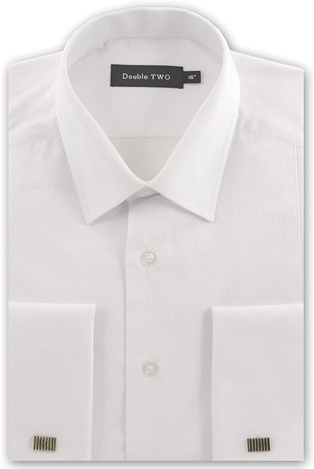 Double TWO Mens Marcella Rib Front Collar 5001 lowest price Dress Shirt in Ranking TOP17