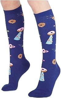 Sock It To Me, Glazed Galaxy, Junior Knee Socks, Galaxy Donut Socks