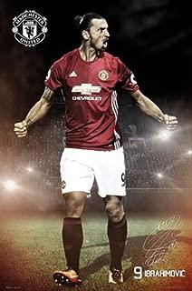 Giant Zlatan Ibrahimovic & Man Utd Poster