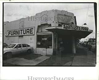 Historic Images - 1991 Press Photo Second Hand Furniture Store
