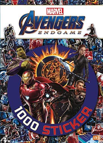 Marvel Avengers Endgame – 1000 Sticker: Stickerbuch mit 13 Stickerbögen