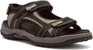 Warren - Men's Orthopedic Sandals Blk/Gry CMB - 12 6e