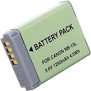 1 pcs 1250 mAh NB-13L NB13L Batterie pour Canon G5X / G5X Mark II / G7X / G7X Mark II / G7 X Mark III G9X SX620 HS SX720 H...